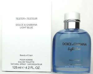 Dolce & Gabbana Light Blue Beauty of Capri, Toaletní voda - Tester, 125ml, Pánska vôňa, + AKCE: dárek zdarma