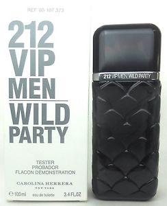 Carolina Herrera 212 VIP Men Wild Party, Toaletní voda - Tester, 100ml, Pánska vôňa, + AKCE: dárek zdarma