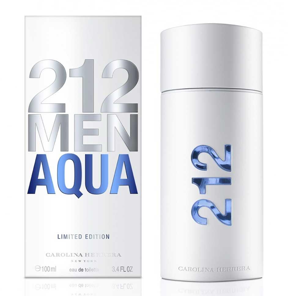Carolina Herrera 212 Men Aqua, Toaletní voda, 100ml, Pánska vôňa, + AKCE: dárek zdarma