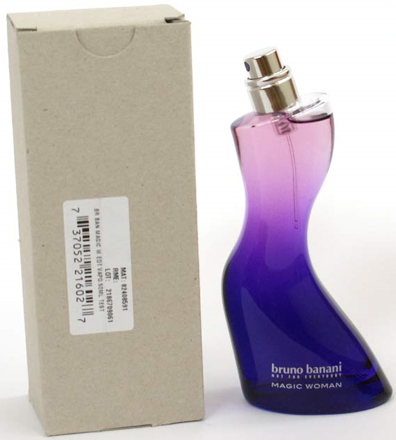 Bruno Banani Magic Woman, Toaletní voda - Tester, 50ml, Dámska vôňa, + AKCE: dárek zdarma