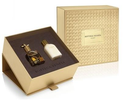 Bottega Veneta Knot, Dárková sada, parfémovaná voda 50ml + tělové mléko 100ml, Dámska vôňa, + AKCE: dárek zdarma