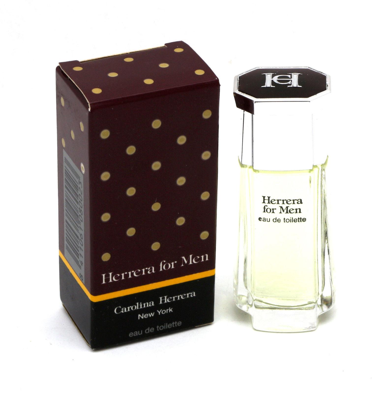 Carolina Herrera Herrera for Men, Toaletní voda, 7ml, Pánska vôňa, + AKCE: dárek zdarma