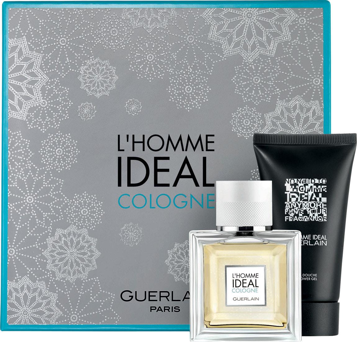 Guerlain L´Homme Ideal Cologne, Dárková sada, toaletní voda 100ml + sprchový gel 75ml, Pánska vôňa, + AKCE: dárek zdarma