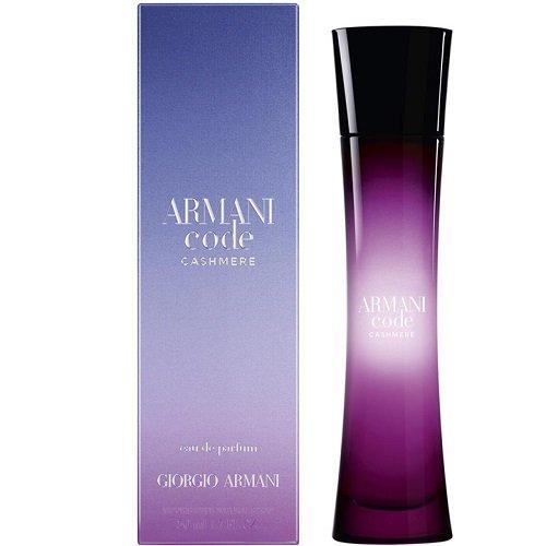 Giorgio Armani Code Cashmere, Parfémovaná voda, 75ml, Dámska vôňa, + AKCE: dárek zdarma