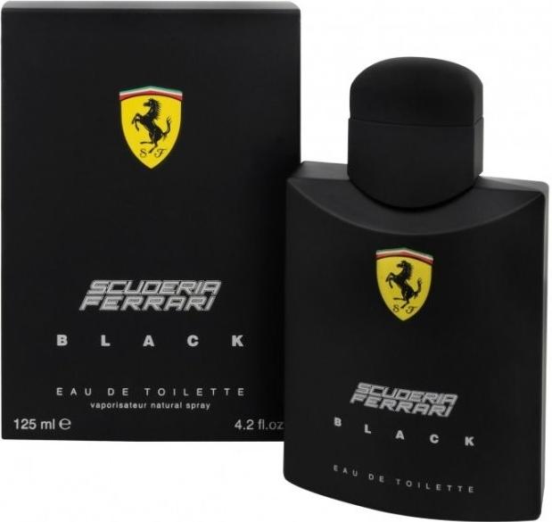Ferrari Scuderia Black, Toaletní voda, 125ml, Pánska vôňa, + AKCE: dárek zdarma