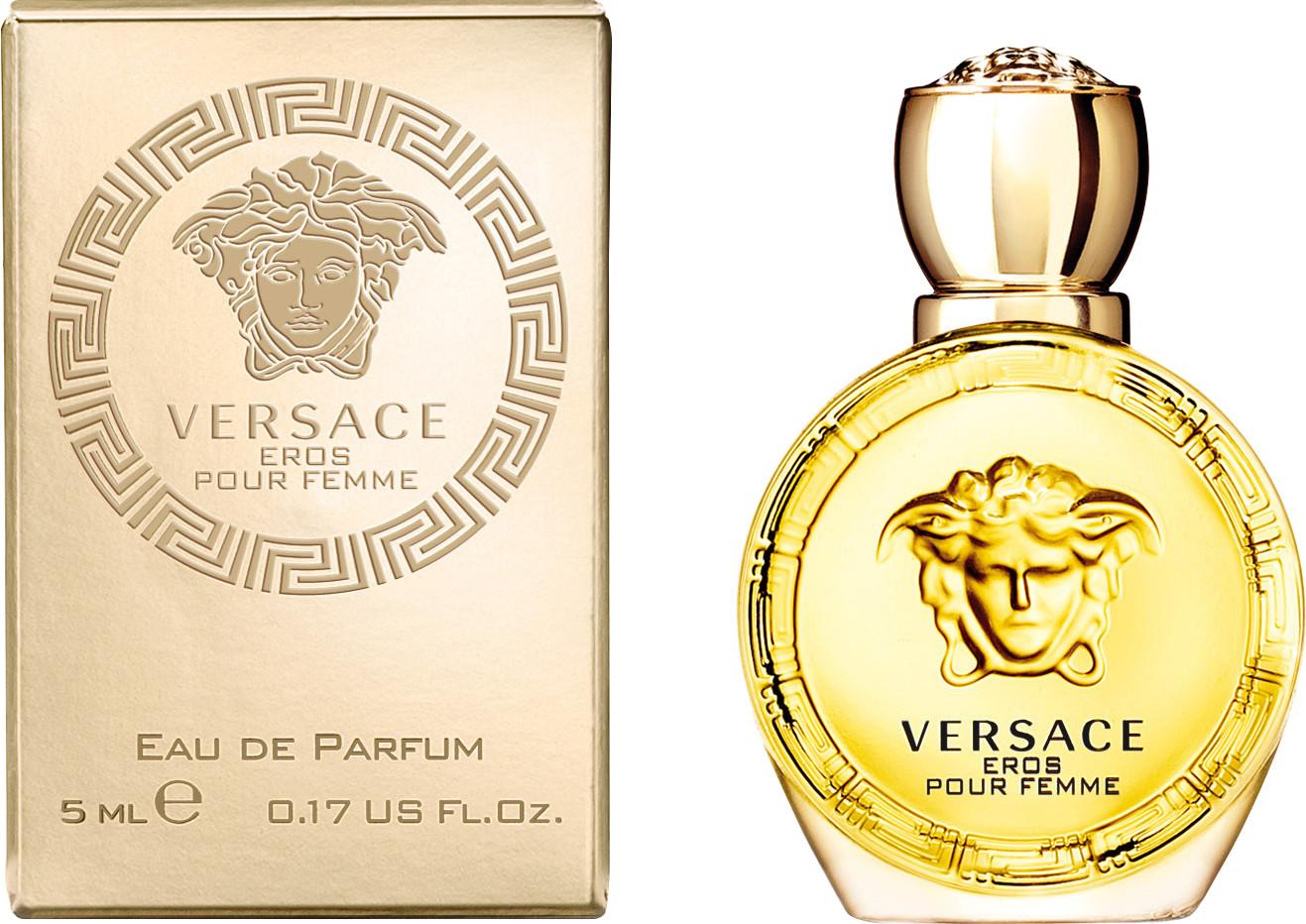 Versace Eros Pour Femme, Parfémovaná voda, 5ml, Dámska vôňa, + AKCE: dárek zdarma