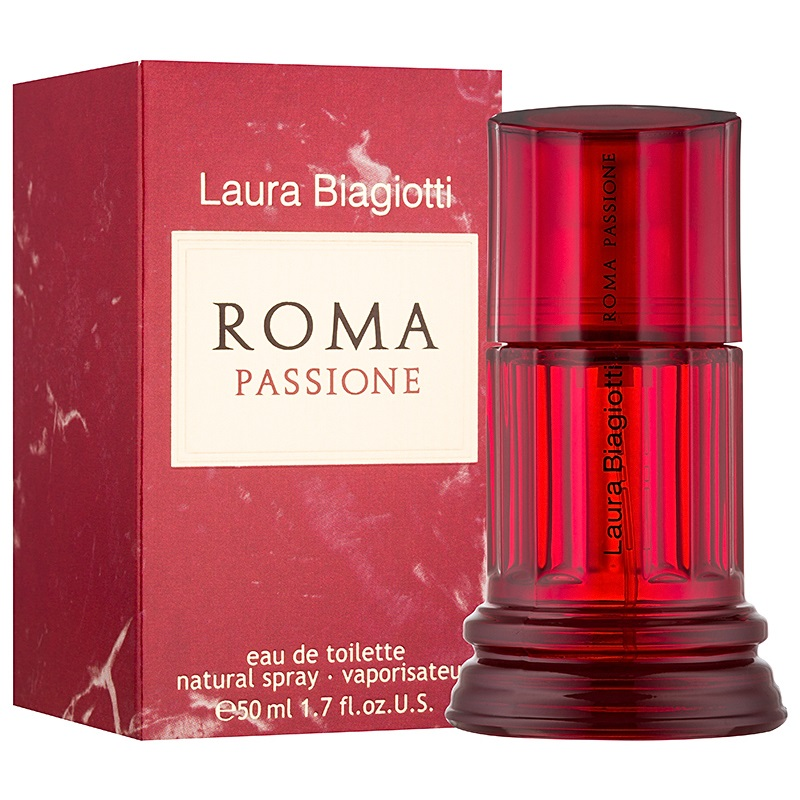 Laura Biagiotti Roma Passione, Toaletní voda, 50ml, Dámska vôňa, + AKCE: dárek zdarma