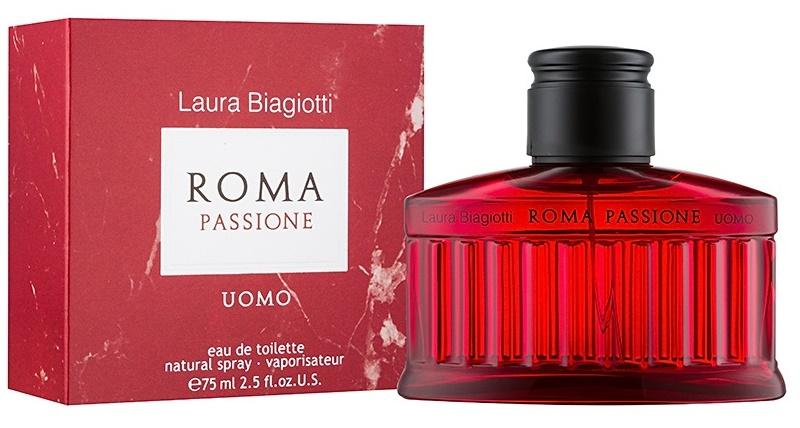 Laura Biagiotti Roma Passione Uomo, Toaletní voda, 75ml, Pánska vôňa, + AKCE: dárek zdarma