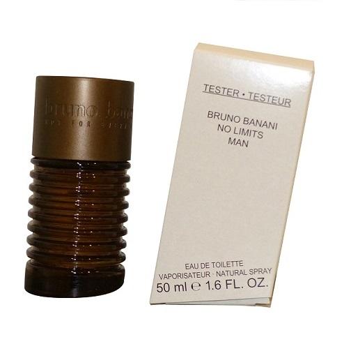 Bruno Banani No Limits Man, Toaletní voda - Tester, 50ml, Pánska vôňa, + AKCE: dárek zdarma