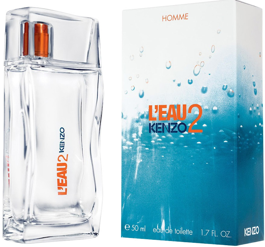 Kenzo L´Eau 2 Kenzo pour Homme, Toaletní voda, 50ml, Pánska vôňa, + AKCE: dárek zdarma