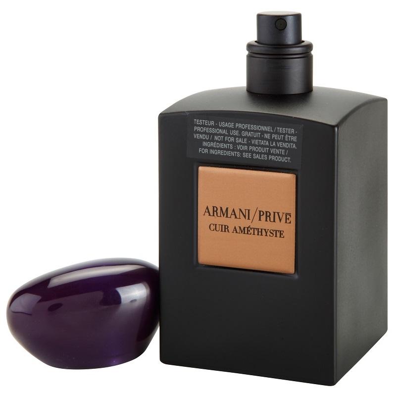 Giorgio Armani Prive Cuir Amethyste, Parfémovaná voda - Tester, 100ml, Unisex vôňa, + AKCE: dárek zdarma