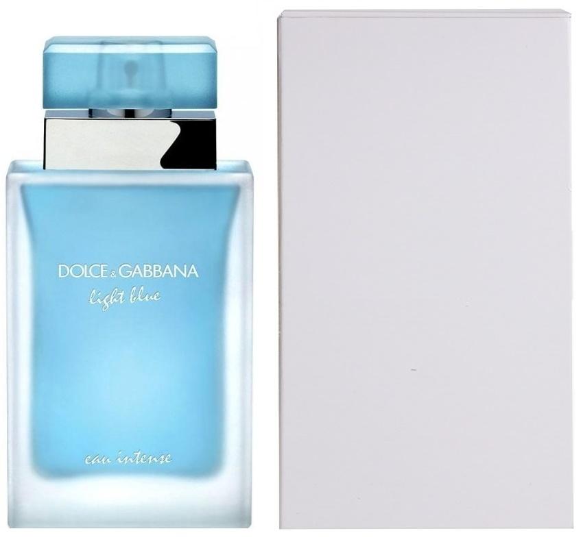 Dolce & Gabbana Light Blue Eau Intense, Parfémovaná voda - Tester, 100ml, Dámska vôňa, + AKCE: dárek zdarma