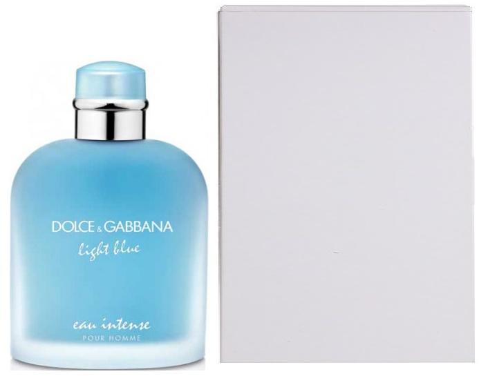 Dolce & Gabbana Light Blue Eau Intense Pour Homme, Parfémovaná voda - Tester, 100ml, Pánska vôňa, + AKCE: dárek zdarma