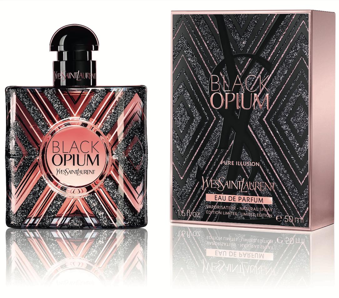 Yves Saint Laurent Black Opium Pure Illusion, Parfémovaná voda, 90ml, Dámska vôňa, + AKCE: dárek zdarma