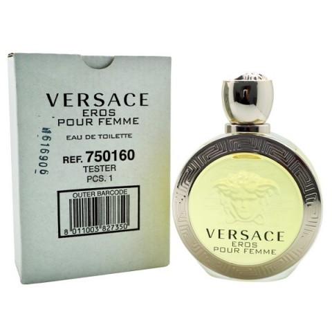 Versace Eros Pour Femme, Toaletní voda - Tester, 100ml, Dámska vôňa, + AKCE: dárek zdarma