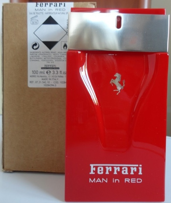 Ferrari Man in Red, Toaletní voda - Tester, 100ml, Pánska vôňa, + AKCE: dárek zdarma