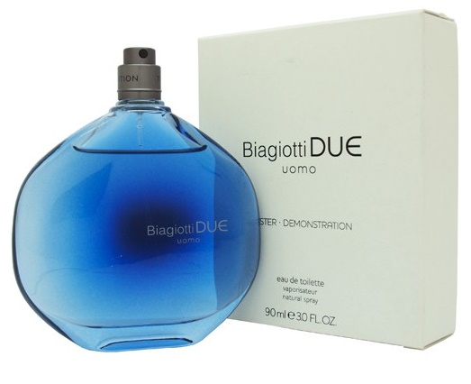 Laura Biagiotti Due Uomo, Toaletní voda - Tester, 90ml, Pánska vôňa, + AKCE: dárek zdarma