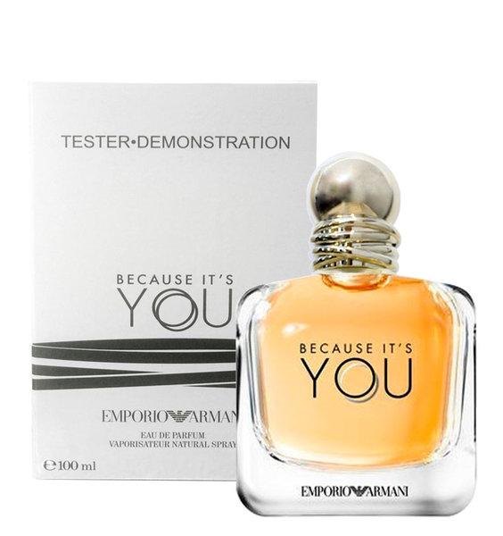 Giorgio Armani Because It's is You, Parfémovaná voda - Tester, 100ml, Dámska vôňa, + AKCE: dárek zdarma