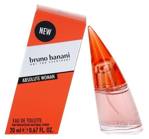 Bruno Banani Absolute for Woman, Toaletní voda, 20ml, Dámska vôňa, + AKCE: dárek zdarma