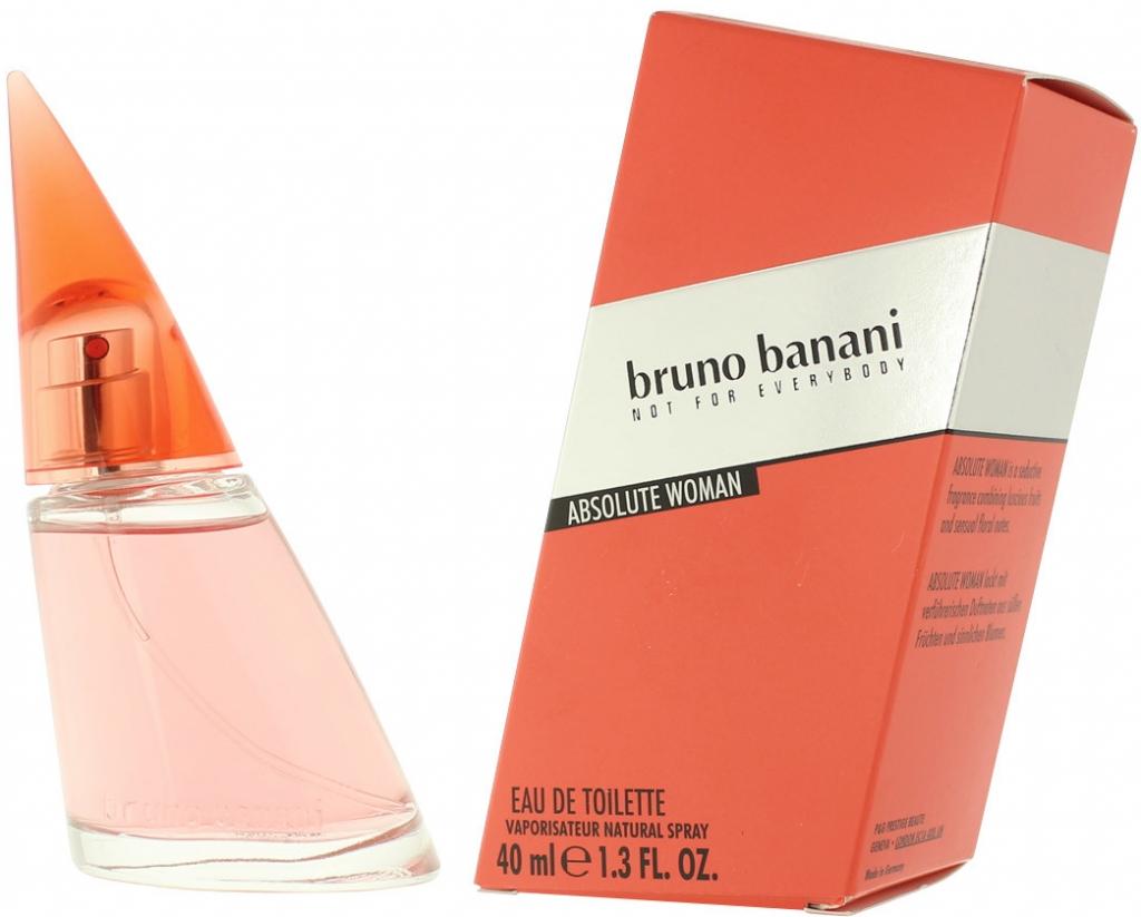 Bruno Banani Absolute for Woman, Toaletní voda, 40ml, Dámska vôňa, + AKCE: dárek zdarma