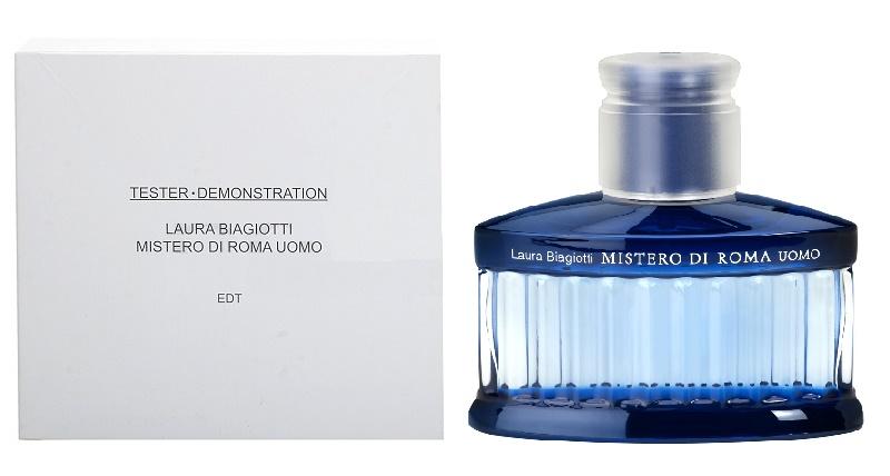Laura Biagiotti Mistero Di Roma Uomo, Toaletní voda - Tester, 125ml, Pánska vôňa, + AKCE: dárek zdarma