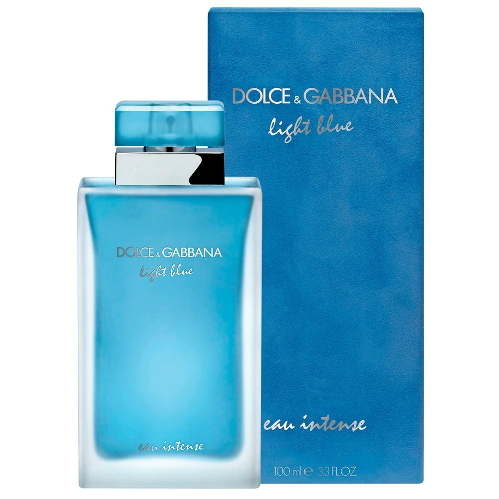 Dolce & Gabbana Light Blue Eau Intense, Parfémovaná voda, 100ml, Dámska vôňa, + AKCE: dárek zdarma