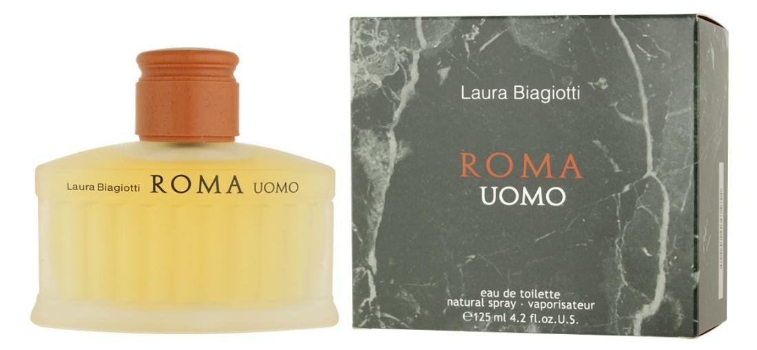 Laura Biagiotti Roma Uomo, Toaletní voda, 125ml, Pánska vôňa, + AKCE: dárek zdarma
