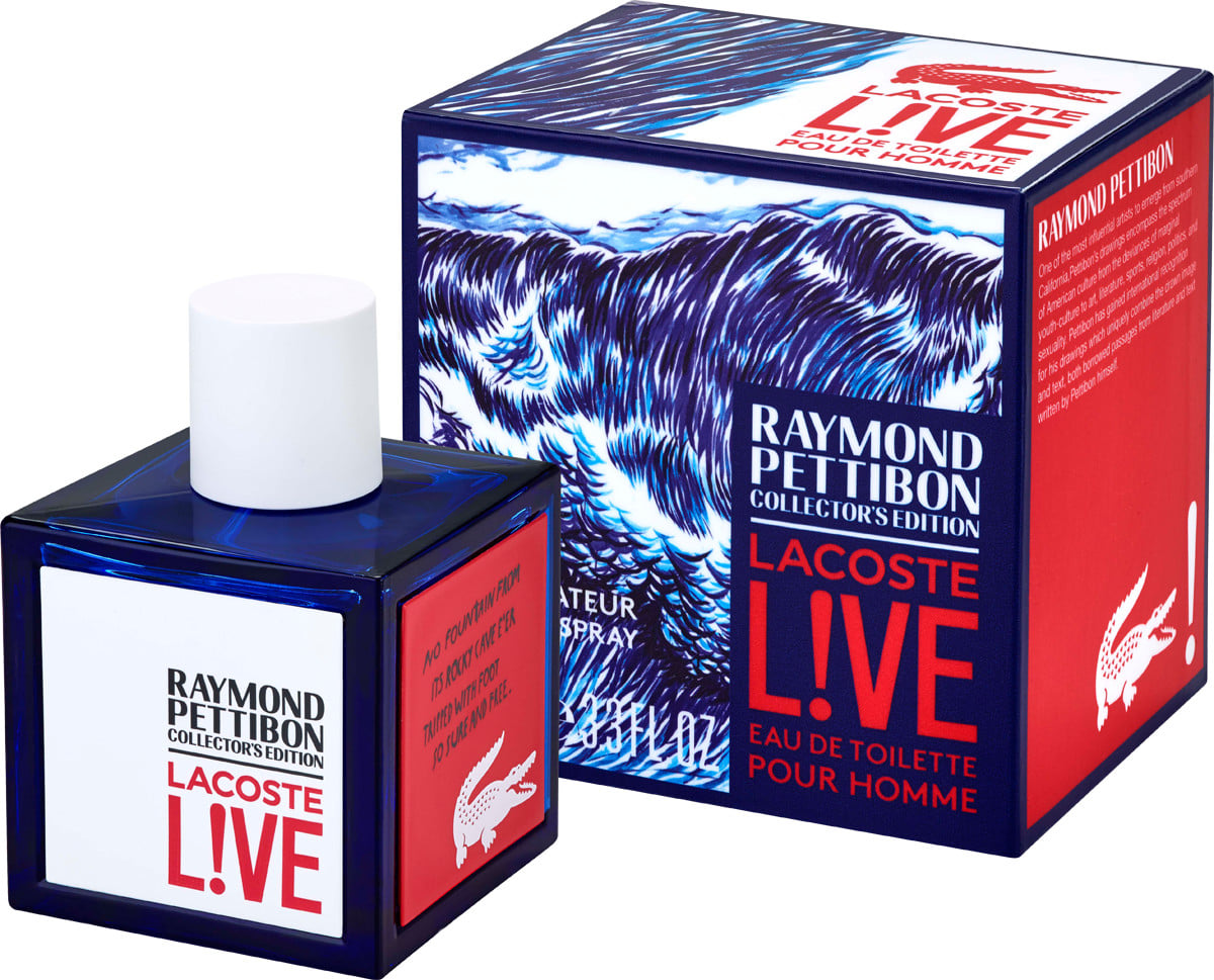 Lacoste Live Raymond Pettibon Collector´s Edition, Toaletní voda, 100ml, Pánska vôňa, + AKCE: dárek zdarma