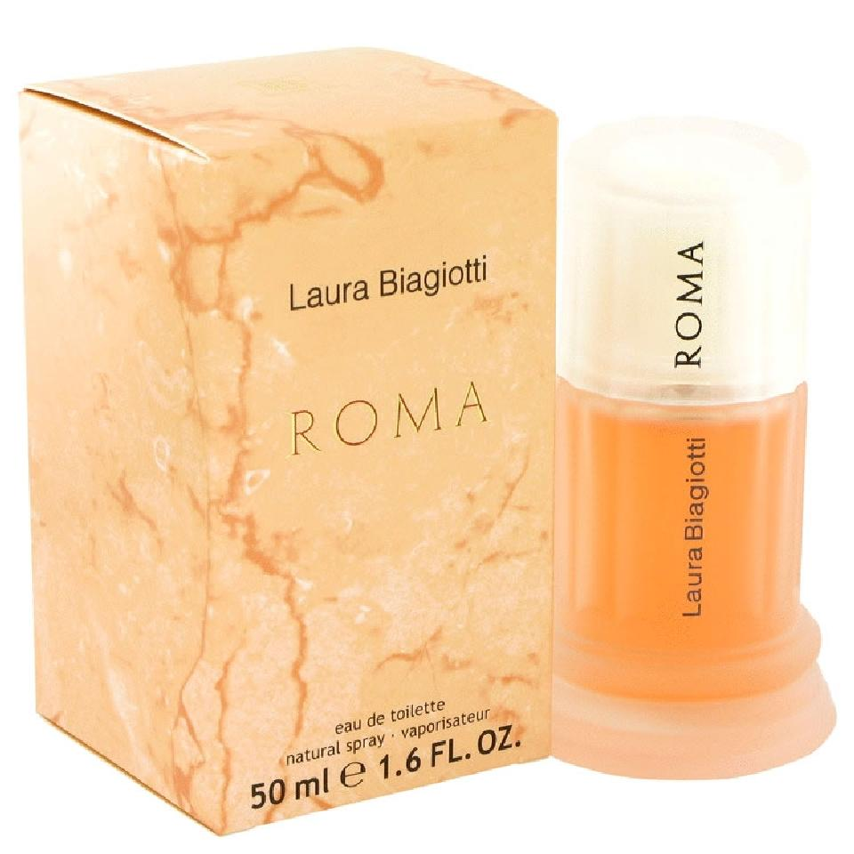 Laura Biagiotti Roma, Toaletní voda, 50ml, Dámska vôňa, + AKCE: dárek zdarma