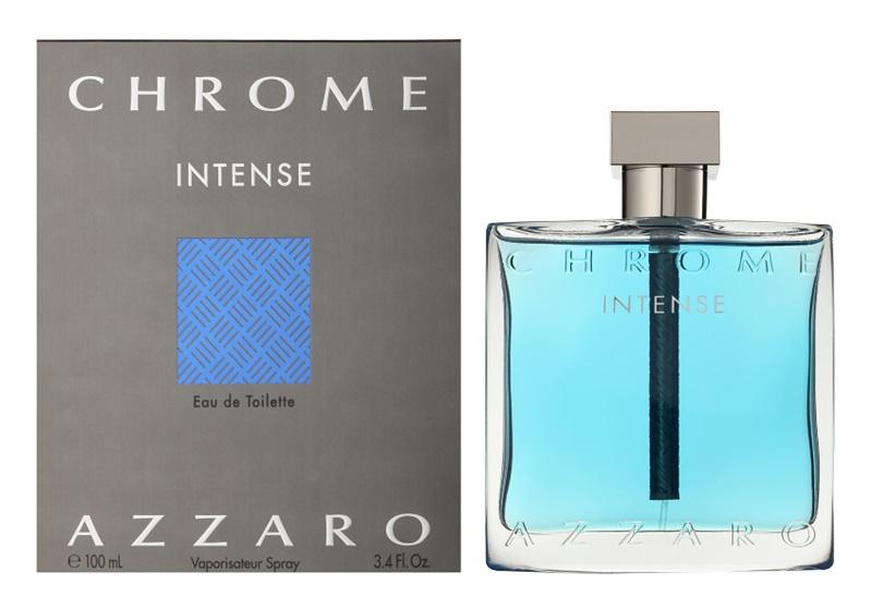 Azzaro Chrome Intense, Toaletní voda, 100ml, Pánska vôňa, + AKCE: dárek zdarma