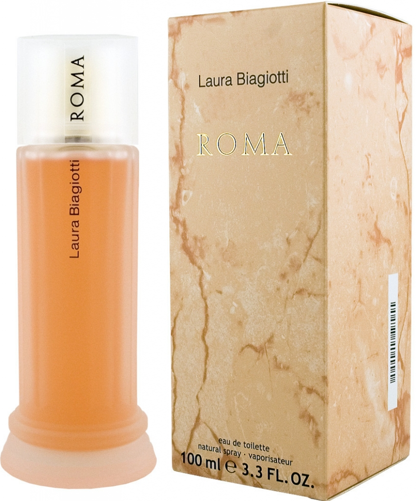 Laura Biagiotti Roma, Toaletní voda, 100ml, Dámska vôňa, + AKCE: dárek zdarma