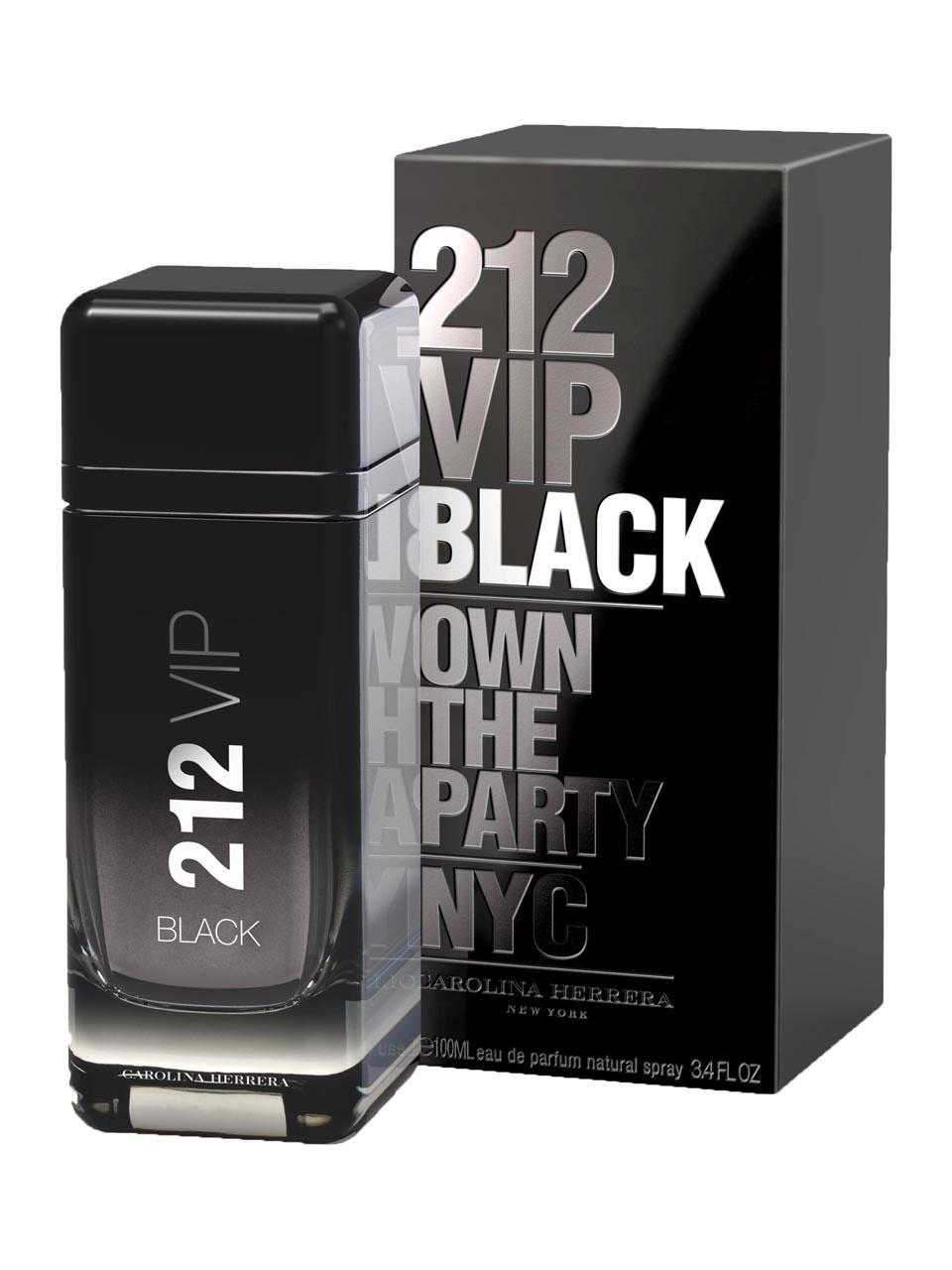 Carolina Herrera 212 VIP Men Black, Parfémovaná voda, 100ml, Pánska vôňa, + AKCE: dárek zdarma
