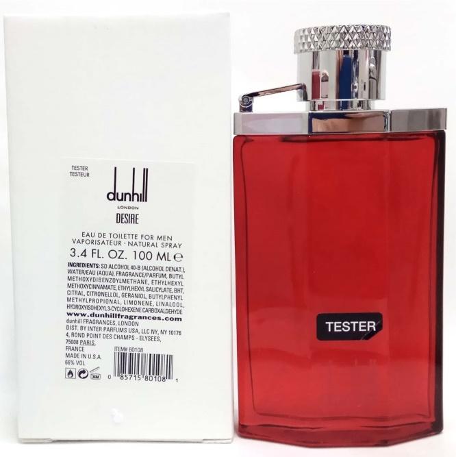 Dunhill Desire for Man, Toaletní voda - Tester, 100ml, Pánska vôňa, + AKCE: dárek zdarma