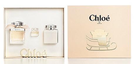 Chloe Fleur De Parfum, Dárková sada, parfémovaná voda 75ml + tělové mléko 100ml + parfémovaná voda 5ml, Dámska vôňa, + AKCE: dárek zdarma