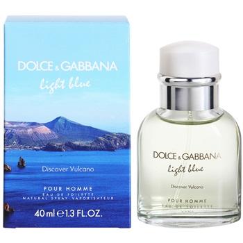 Dolce & Gabbana Light Blue Discover Vulcano Pour Homme, Toaletní voda, 40ml, Pánska vôňa, + AKCE: dárek zdarma