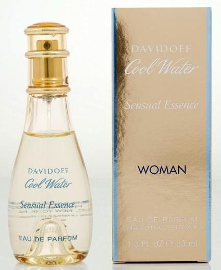 Davidoff Cool Water Sensual Essence, Parfémovaná voda, 30ml, Dámska vôňa, + AKCE: dárek zdarma
