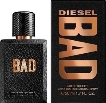 Diesel Bad, Toaletní voda, 50ml, Pánska vôňa, + AKCE: dárek zdarma