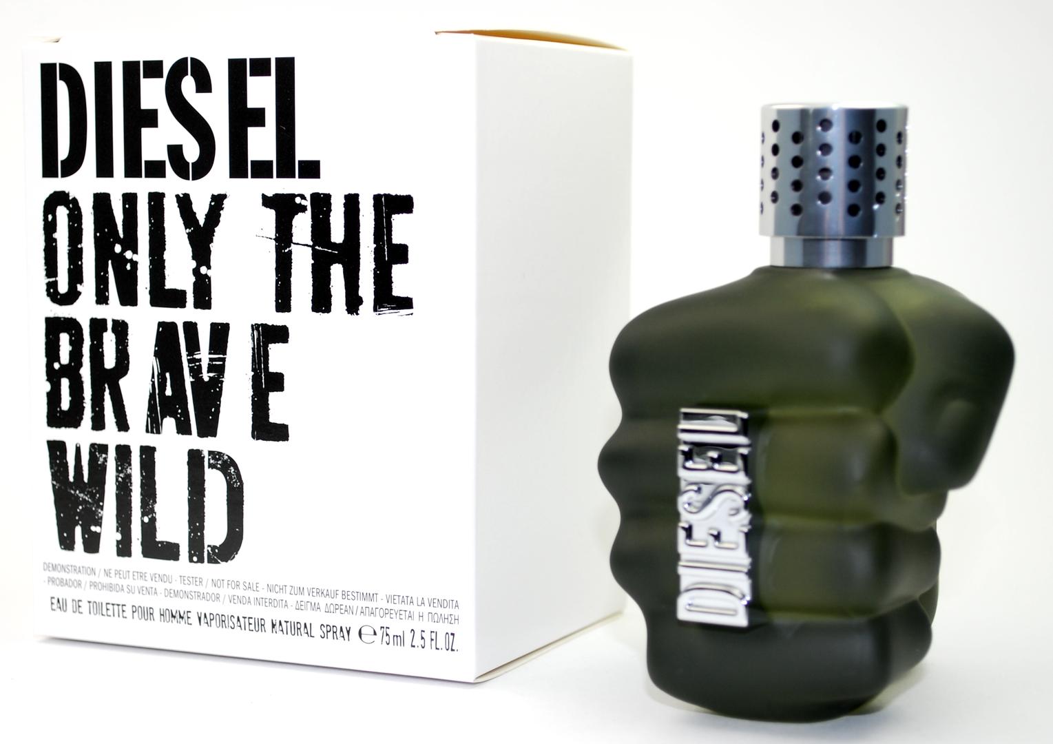Diesel Only The Brave Wild, Toaletní voda - Tester, 75ml, Pánska vôňa