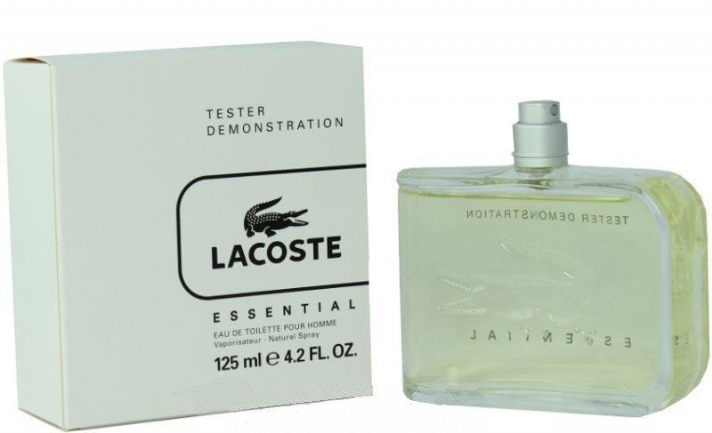 Lacoste Essential, Toaletní voda - Tester, 125ml, Pánska vôňa, + AKCE: dárek zdarma