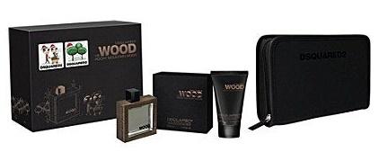 Dsquared2 He Wood Rocky Mountain Wood, Dárková sada, toaletní voda 50ml + sprchový gel 2in1 100ml + složka na dokument, Pánska vôňa, + AKCE: dárek zdarma