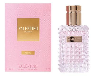 Valentino Donna Acqua, Toaletní voda, 30ml, Dámska vôňa, + AKCE: dárek zdarma