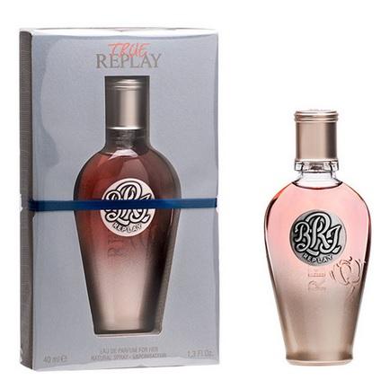 Replay True for Her, Parfémovaná voda, 40ml, Dámska vôňa, + AKCE: dárek zdarma