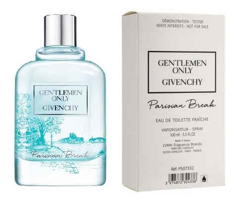 Givenchy Gentlemen Only Parisian Break, Toaletní voda - Tester, 100ml, Pánska vôňa, + AKCE: dárek zdarma