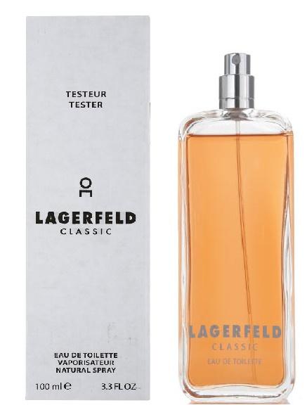 Lagerfeld Classic, Toaletní voda - Tester, 100ml, Pánska vôňa, + AKCE: dárek zdarma