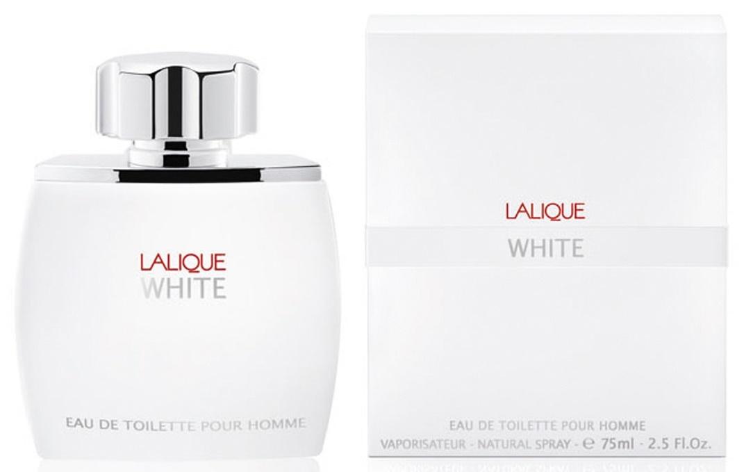 Lalique White for Men, Toaletní voda, 75ml, Pánska vôňa, + AKCE: dárek zdarma