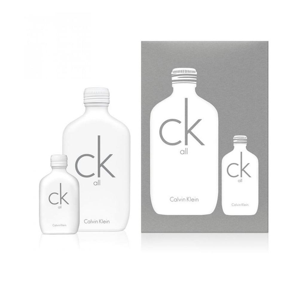 Calvin Klein CK All, Dárková sada, toaletní voda 100ml + toaletní voda 15ml, Unisex vôňa