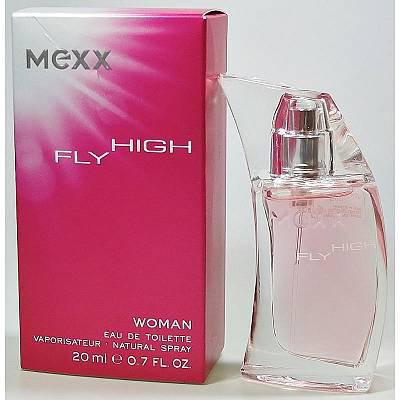 Mexx Fly High Woman, Toaletní voda, 20ml, Dámska vôňa, + AKCE: dárek zdarma