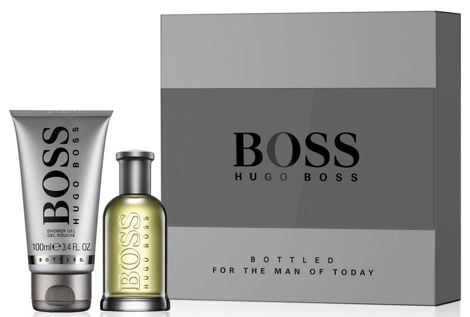 Hugo Boss No.6 Bottled, Dárková sada, toaletní voda 50ml + sprchový gel 100ml, Pánska vôňa