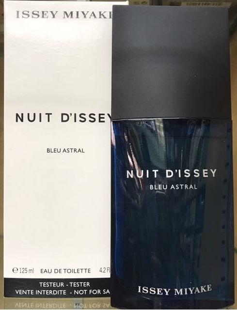 Issey Miyake Nuit D'Issey Bleu Astral, 125ml, Toaletní voda - Tester