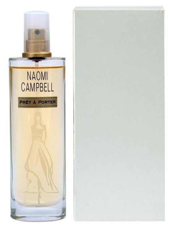 Naomi Campbell Prét a Porter, Toaletní voda - Tester, Dámska vôňa, 50ml